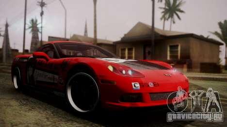 Chevrolet Corvette Z51 Another Itasha для GTA San Andreas