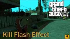 GTA 5 Kill Flash Effect для GTA San Andreas