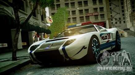 Bullet Police Car для GTA 4