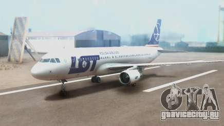 LOT Polish Airlines Airbus A320-200 (New Livery) для GTA San Andreas
