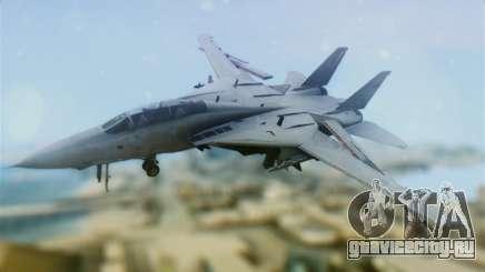 F-14A Tomcat VF-111 Sundowners Low Visibility для GTA San Andreas