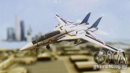 F-14D Tomcat Macross Yellow & Black для GTA San Andreas