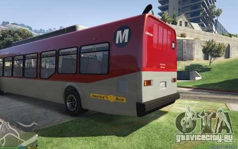 New Bus Textures v2 для GTA 5 вид слева