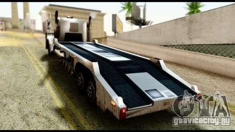 Packer Style DFT-30 для GTA San Andreas вид слева