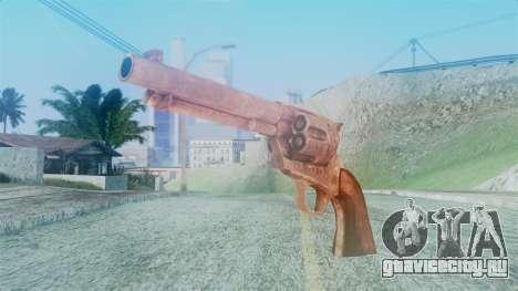 Red Dead Redemption Revolver Cattleman для GTA San Andreas