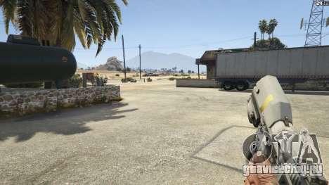 Halo UNSC: Magnum для GTA 5 восьмой скриншот