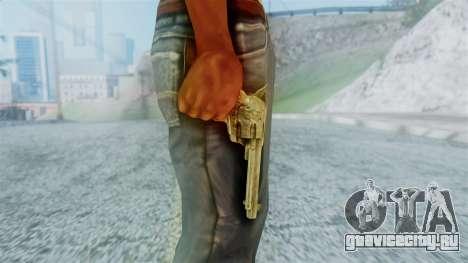 Red Dead Redemption Revolver Cattleman Diego v2 для GTA San Andreas третий скриншот
