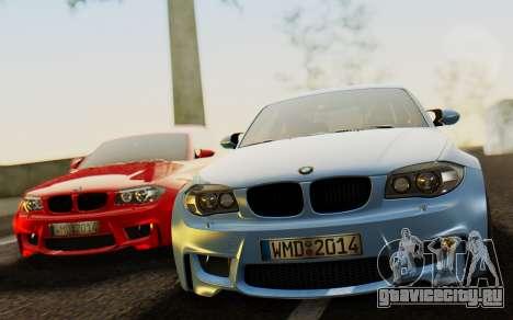 BMW 1M E82 для GTA San Andreas