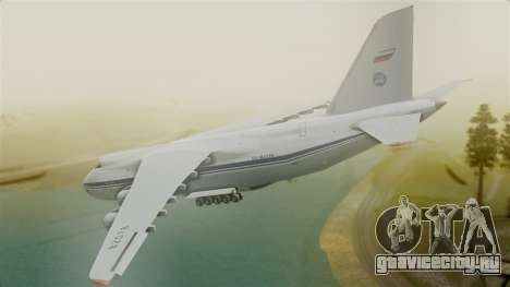 Antonov 124 для GTA San Andreas вид слева