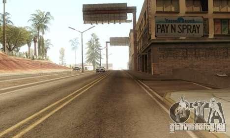 ENB & Colormod v 1.0 для GTA San Andreas третий скриншот