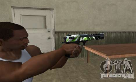 Ben Ten Deagle для GTA San Andreas второй скриншот