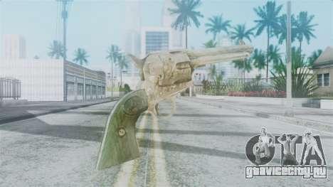 Red Dead Redemption Revolver Sergio для GTA San Andreas второй скриншот