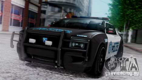 Hunter Citizen Police LV IVF для GTA San Andreas