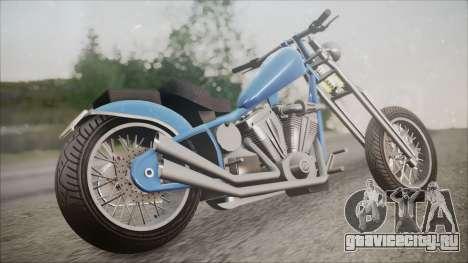 LCC Hexer GTA 5 HQLM для GTA San Andreas вид слева