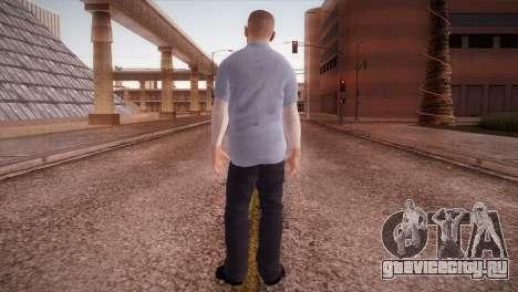Michael Scofield Тюремная форма для GTA San Andreas третий скриншот
