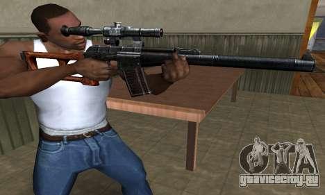 Old Sniper для GTA San Andreas второй скриншот