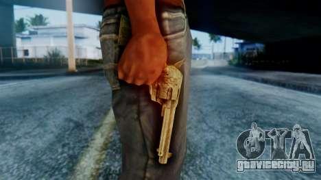 Red Dead Redemption Revolver для GTA San Andreas третий скриншот