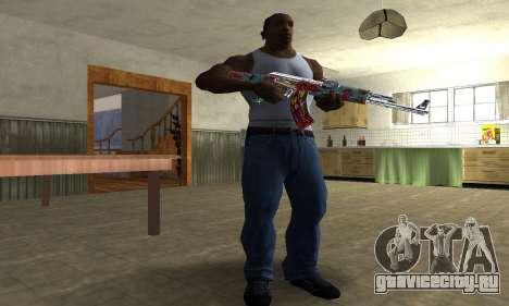 Cool Graf AK-47 для GTA San Andreas третий скриншот