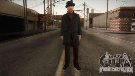 Sherlock Holmes v1 для GTA San Andreas второй скриншот