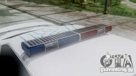 Hunter Citizen v3 IVF для GTA San Andreas вид сзади