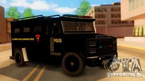 Sat Brimob Skin Enforcer from GTA 5 для GTA San Andreas