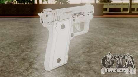 GTA 5 SNS Pistol для GTA San Andreas второй скриншот