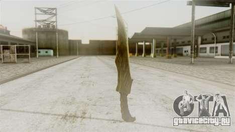 Elven Dagger для GTA San Andreas второй скриншот