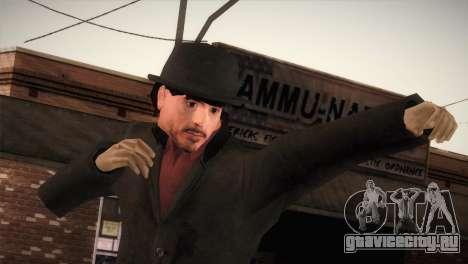 Sherlock Holmes v1 для GTA San Andreas