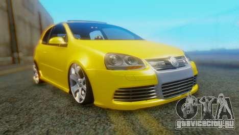Volkswagen Golf R32 AirQuick для GTA San Andreas