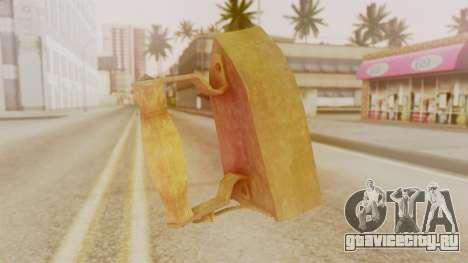 Red Dead Redemption Brassknuvle для GTA San Andreas второй скриншот
