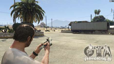 Halo UNSC: Magnum для GTA 5 седьмой скриншот