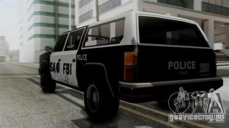 Alternative FBI Rancher для GTA San Andreas вид слева