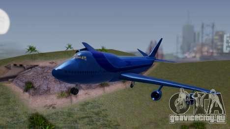 AT-400 Argentina Airlines для GTA San Andreas вид сзади