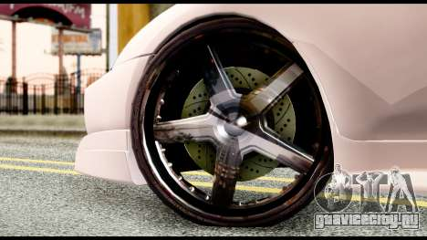 Toyota Supra Full Tuning v2 для GTA San Andreas вид сзади слева