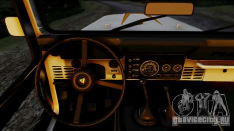 Jeep CJ-7 Renegade 1982 для GTA San Andreas вид сзади слева