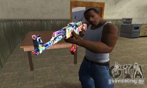 Cool Graf AK-47 для GTA San Andreas второй скриншот