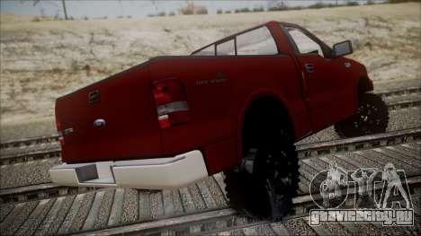Ford F-150 2005 Single Cab для GTA San Andreas вид слева
