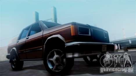 Landstalker Pickup для GTA San Andreas вид сзади слева