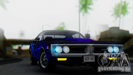 Dodge Charger Super Bee 426 Hemi (WS23) 1971 для GTA San Andreas вид сбоку