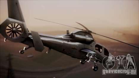 Harbin WZ-19 для GTA San Andreas вид сзади слева