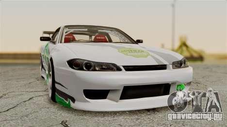 Nissan Silvia S15 24AUTORU для GTA San Andreas вид сзади