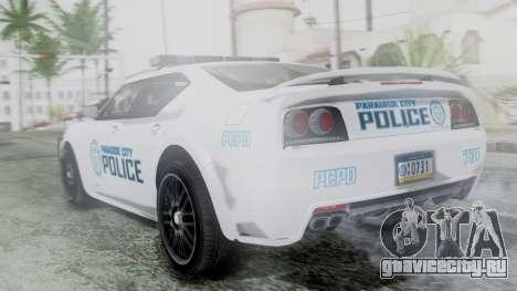 Hunter Citizen v3 IVF для GTA San Andreas вид слева