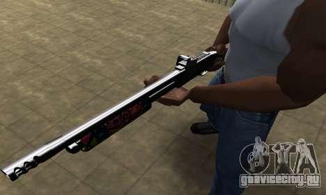 National Shotgun для GTA San Andreas второй скриншот