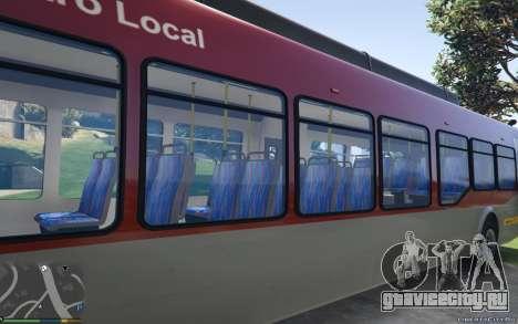 New Bus Textures v2 для GTA 5 вид сзади слева