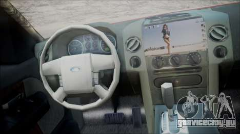 Ford F-150 2005 Single Cab для GTA San Andreas вид сзади слева