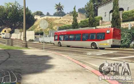 New Bus Textures v2 для GTA 5 вид сзади справа