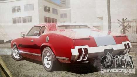 Sabre Turbocharged для GTA San Andreas вид слева