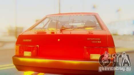 ВАЗ 2109 Сток для GTA San Andreas вид изнутри