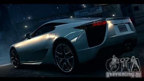 Lexus LF-A 2010 EPM для GTA 4 вид слева