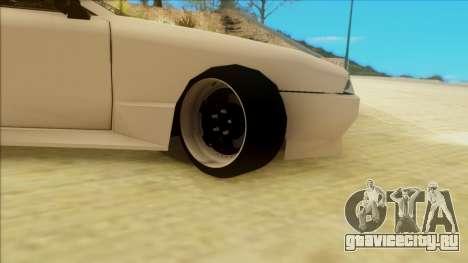 Elegy by PROFF для GTA San Andreas вид сзади слева